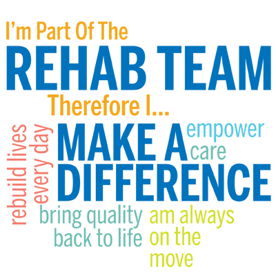 I'm Part Of The Rehab Team Therefore I... Theme from Positive Promotions