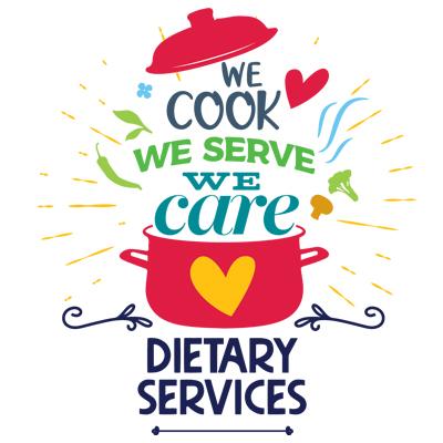 Dietary Services We Cook We Serve We Care Theme from Positive Promotions