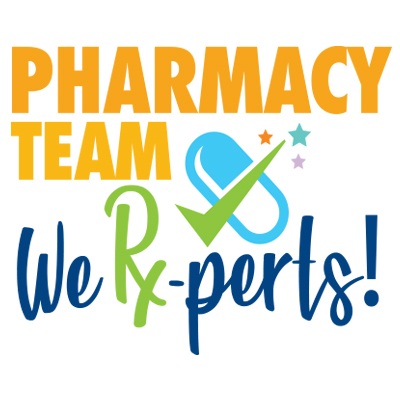 Pharmacy Team  We're Rx-Perts Theme from Positive Promotions