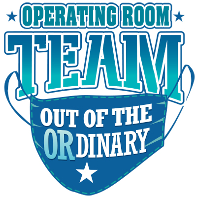 Operating Room Team Out Of The Ordinary Theme from Positive Promotions