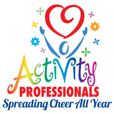 Activity Professionals Spreading Cheer All Year Round Theme from Positive Promotions