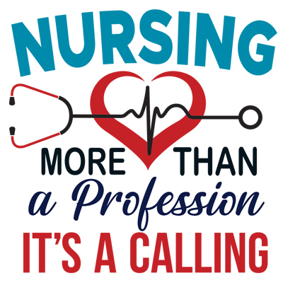 Nursing More Than A Profession It's A Calling Theme from Positive Promotions