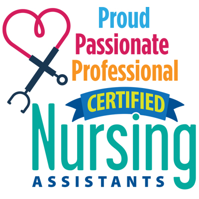 Certified Nursing Assistants Proud Passionate Professional Theme from Positive Promotions