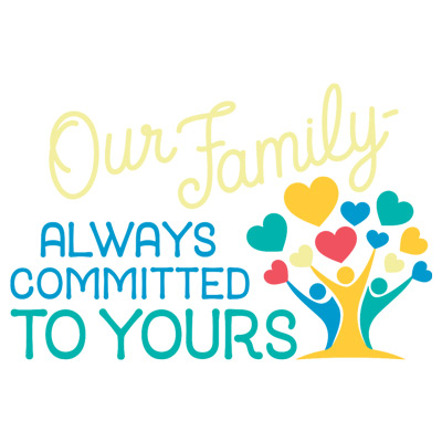 Our Family Always Committed To Yours Theme from Positive Promotions