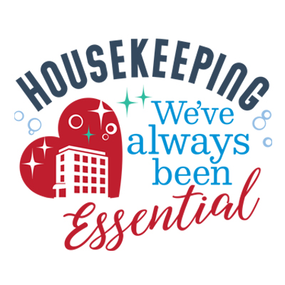 Housekeeping We've Always Been Essential Theme from Positive Promotions