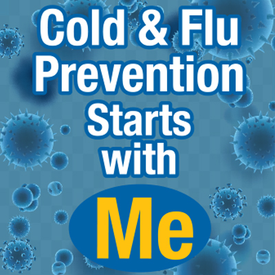 Preventing The Cold & Flu is Up To You! Theme from Positive Promotions