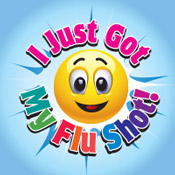 I Got My Flu Shot Theme from Positive Promotions