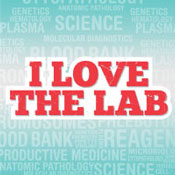I Love The Lab Theme from Positive Promotions