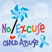 No Excuse For Child Abuse Theme from Positive Promotions