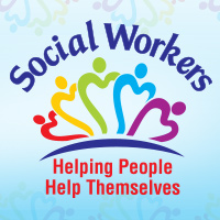 Social Workers Helping People Help Themselves Theme from Positive Promotions