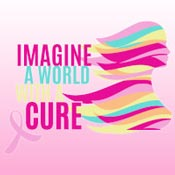 Imagine A World With A Cure Theme from Positive Promotions