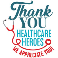 Thank You To All Healthcare Heroes Theme from Positive Promotions