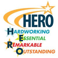 Hero Hardworking Essential Remarkable Outstanding Theme from Positive Promotions