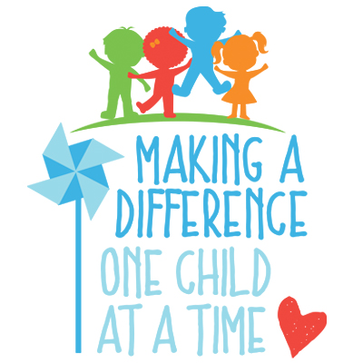 Making A Difference One Child At A Time Theme from Positive Promotions