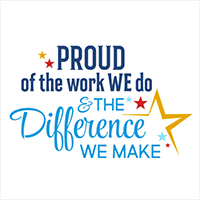 Proud Of The Work We Do And The Difference We Make Theme from Positive Promotions