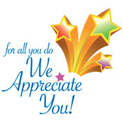 For All You Do We Appreciate You Theme from Positive Promotions