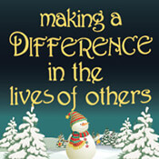 Making A Difference In Lives Of Others Theme from Positive Promotions