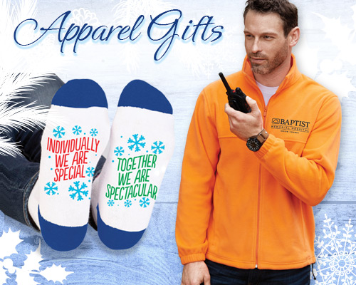 Holiday Apparel Gifts of Appreciation