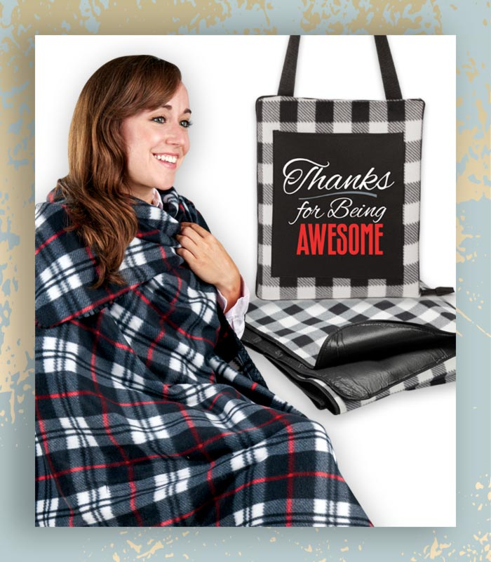 Holiday Blanket gifts