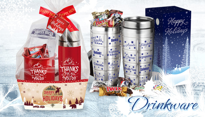 Holiday Drinkware Gifts of Appreciation