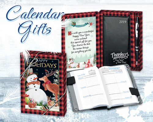 Holiday Planners and Calendars Gifts of Appreciation