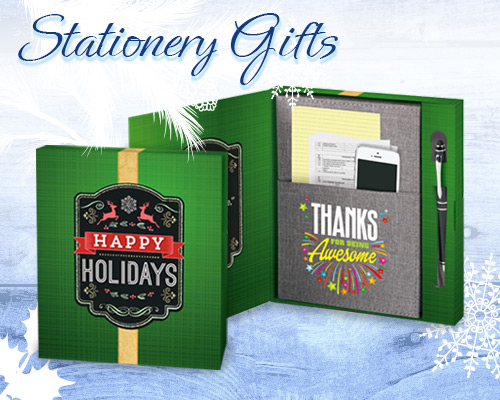 Holiday Stationery Gifts of Appreciation