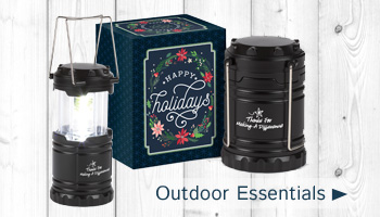 Holiday outdoor essential gifts of appreciation