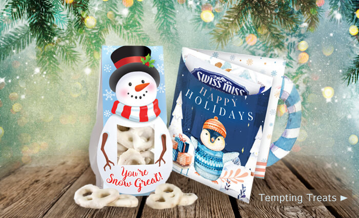 Holiday gifts tempting treats of appreciation
