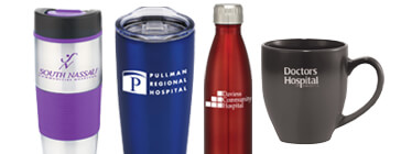 Hospital Staff recognition and appreciation drinkware gifts for your dedicated staff