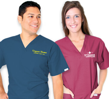 Scrubs gifts of appreciation for your Hospital staff. Comfort and germ protection