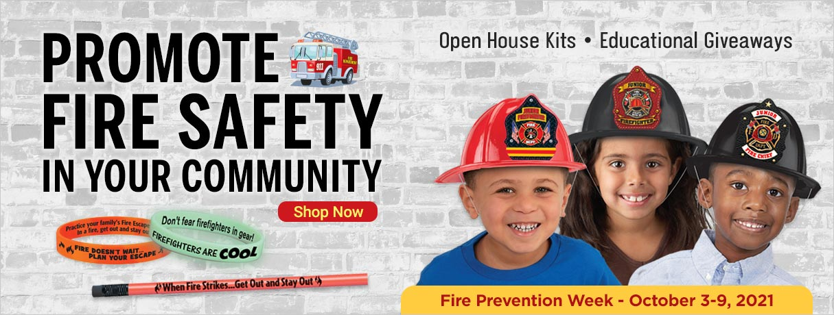 Great Giveaways to Help Promote Fire Safety