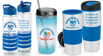 Workday or weekend:  thoughtful drinkware gifts make life easier for those on-the-go.