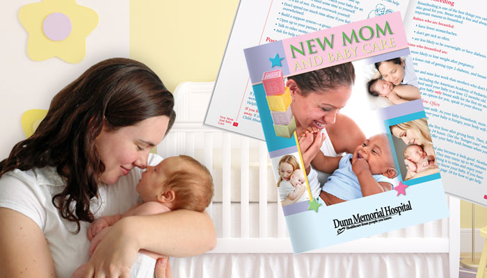 New Mom & Baby. Breastfeeding. Educate new and expecting Moms