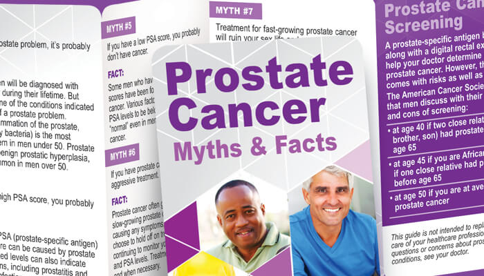 Prostate Cancer Awareness tools and incentives