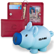 Shop all custom Wallets, Coin Purses and Banks