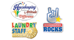 Click here to see our International Housekeepers Week Lapel Pins products