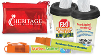 shop all of our customer service recognition bags, totes, lunch bags and coolers