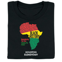 Black History: Remembering the Past, Shaping the Future Personalized T-Shirt