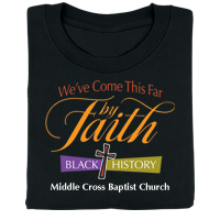 Black History: We've Come This Far by Faith Personalized T-Shirt