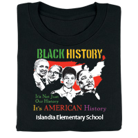 Black History: It's Not Just Our History, It's American History Personalized T-Shirt