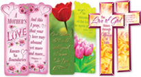 mothers appreciation bookmarks gifts, mothers recognition bookmarks gifts that will inspire faith and love