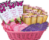 mothers appreciation gift sets such as pen and notepad combo, assortment display baskets, seed packets, die cut paper totes and more. mothers recognition gift sets that will inspire faith and love