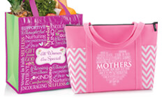 mothers appreciation bags and totes gifts, mothers recognition bags & totes that will inspire faith and love