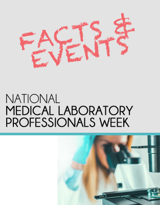 Download Our Medical Laboratory Facts and Events