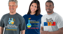 Click here to see our Medical Lab Professionals Week Apparel products.