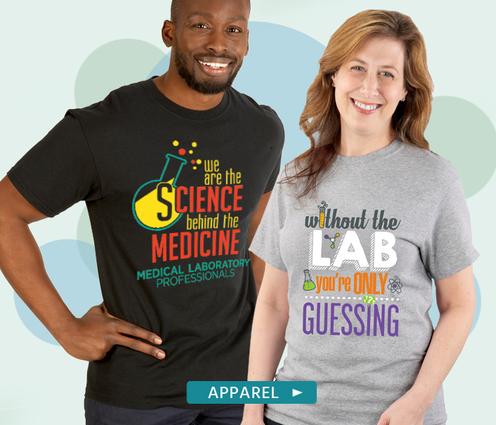 Medical Lab Professionals Apparel Gifts. Boots pride on your Med Lab team.