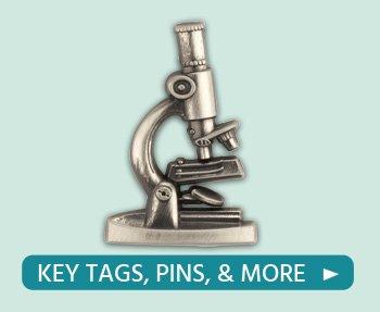 Shop Medical Lab Professionals lapel pins, presentation card included!