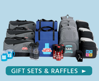 Shop Medical Lab Professionals gift sets and raffle packs, add event excitement!