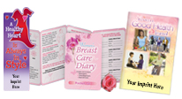 Educational & promotional tools for women & their families, including heart health, breast health, nutrition & more.
