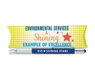 Check out all of our Environmental Services & Healthcare Housekeeping appreciation Desk accessories & Pens.